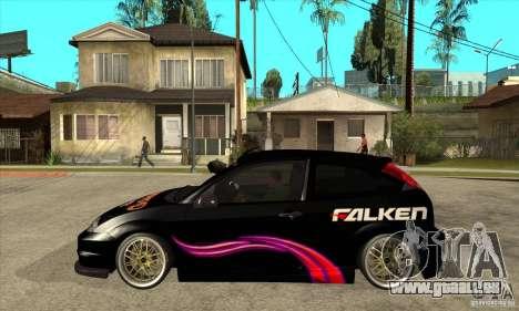 Ford Focus SVT für GTA San Andreas linke Ansicht
