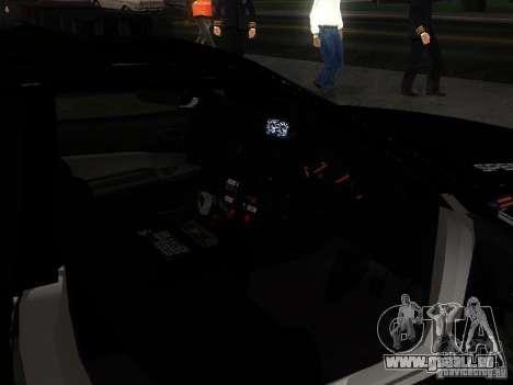 Nissan Skyline R34 Police für GTA San Andreas obere Ansicht