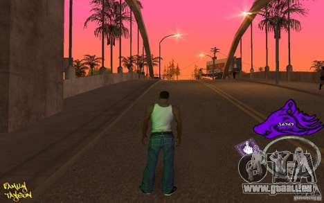C-HUD by Roodney für GTA San Andreas dritten Screenshot