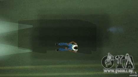 Invisible Blista Compact pour GTA San Andreas vue intérieure