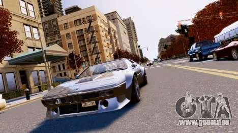 BMW M1 EPM v2.0 pour GTA 4