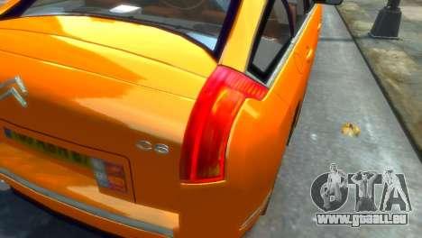 Citroen C6 pour GTA 4 est une gauche