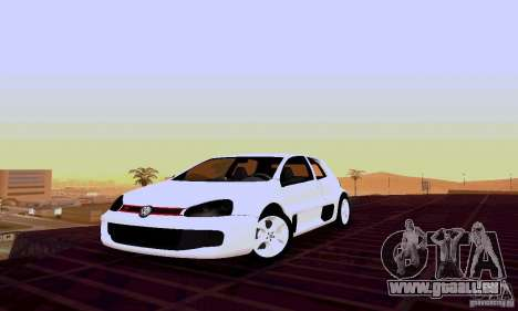 Volkswagen Golf 5 GTI W12 pour GTA San Andreas