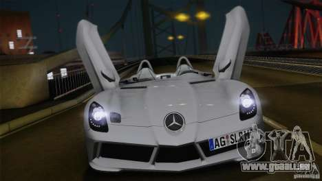 Mercedes-Benz SLR Stirling Moss 2005 pour GTA San Andreas