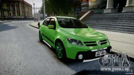 Volkswagen Gol Rallye 2012 v2.0 für GTA 4 Rückansicht