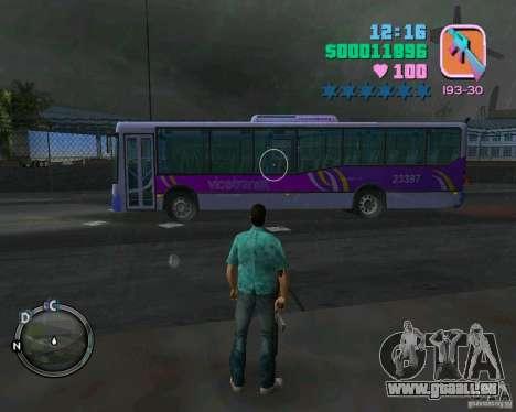 Marcopolo Bus pour une vue GTA Vice City de la gauche