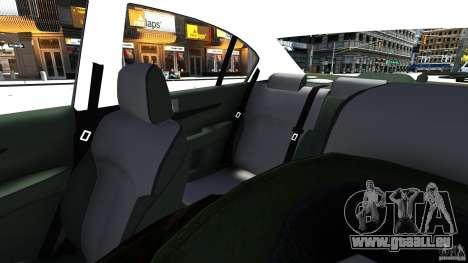Subaru Legacy B4 für GTA 4 Innenansicht