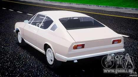 Audi 100 Coupe S pour GTA 4 est un côté