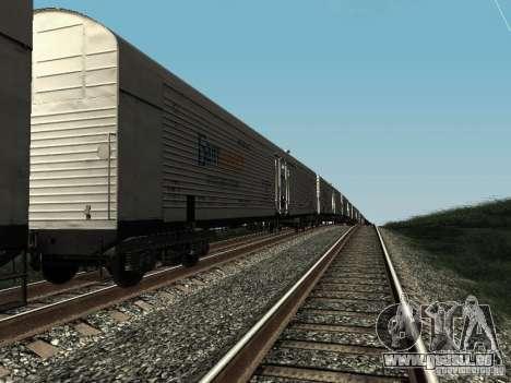 Refrežiratornyj wagon Dessau n5 prima audit pour GTA San Andreas laissé vue