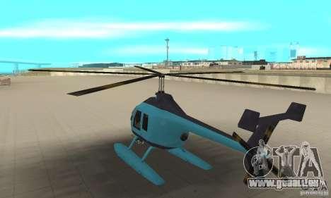 Nouveau Seaspar pour GTA San Andreas sur la vue arrière gauche