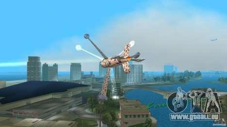Conceptual Fighter Plane für GTA Vice City linke Ansicht