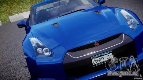 Nissan GT-R R35 2010 v1.3 pour le moteur de GTA 4
