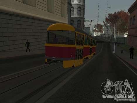 Tatra T3 pour GTA San Andreas laissé vue