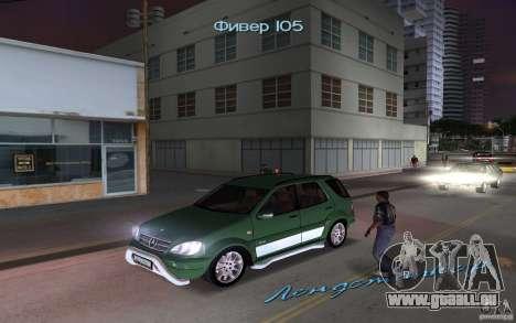 Mercedes-Benz ML55 Demec pour GTA Vice City
