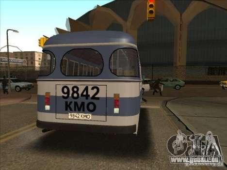 PAZ 672 für GTA San Andreas zurück linke Ansicht