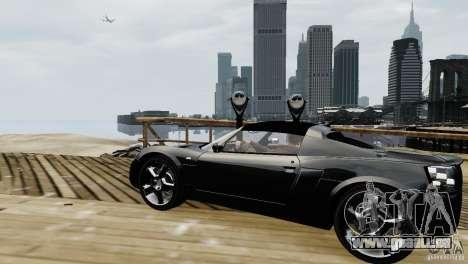 Opel Speedster Turbo 2004 für GTA 4 linke Ansicht