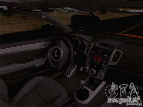 Kia Forte Koup SX für GTA San Andreas Innenansicht