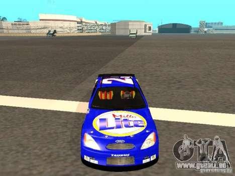 Ford Taurus Nascar LITE für GTA San Andreas Rückansicht