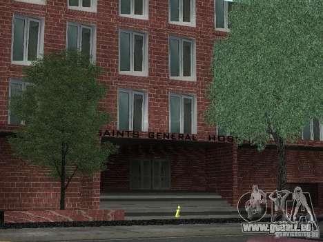 Nouvel hôpital de textures pour GTA San Andreas deuxième écran