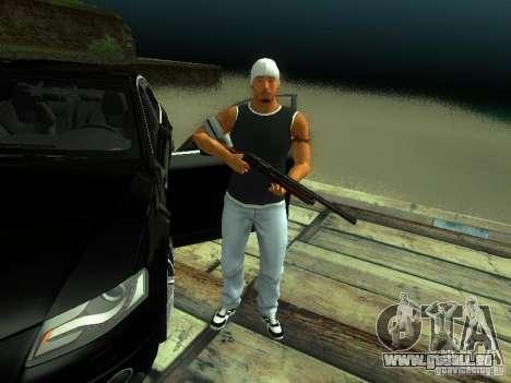 Garçon au FBI 2 pour GTA San Andreas deuxième écran