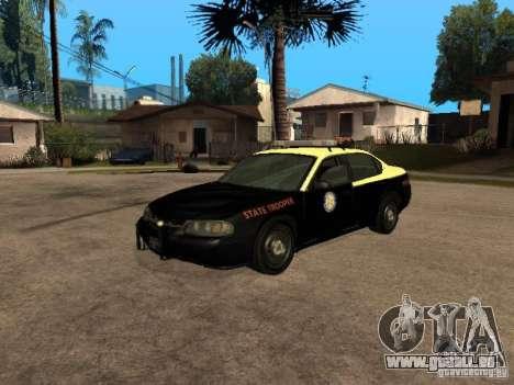 Chevrolet Impala Police 2003 für GTA San Andreas
