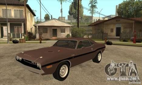 Dodge Challenger R/T Hemi 426 pour GTA San Andreas