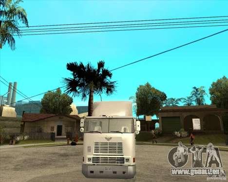 Navistar International 9800 für GTA San Andreas Rückansicht