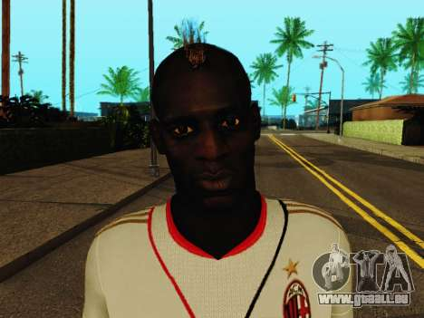 Mario Balotelli v2 für GTA San Andreas sechsten Screenshot