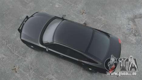 Dodge Charger RT Hemi FBI 2007 für GTA 4 hinten links Ansicht