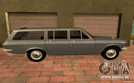 GAZ 2402 pour GTA San Andreas sur la vue arrière gauche