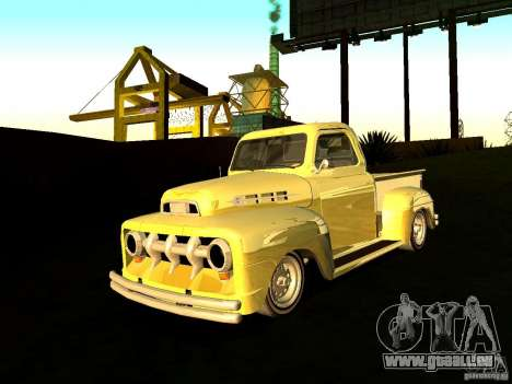 Ford Pick Up Custom 1951 LowRider pour GTA San Andreas