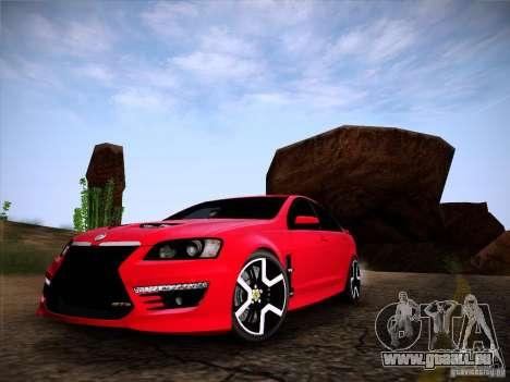 Holden HSV GTS für GTA San Andreas