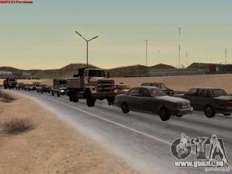Realistic traffic stream für GTA San Andreas