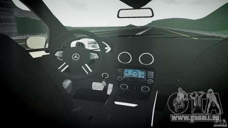 Mercedes-Benz ML 500 v1.0 pour GTA 4 vue de dessus