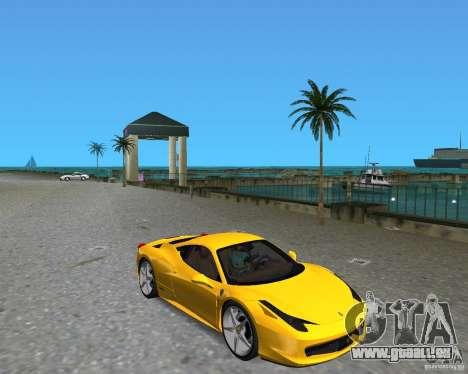 Ferrari 458 Italia pour GTA Vice City