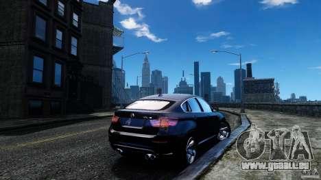 BMW X6 2013 pour GTA 4 Vue arrière de la gauche
