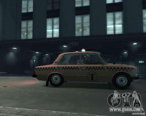 VAZ 2106 Taxi für GTA 4 linke Ansicht