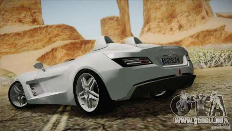 Mercedes-Benz SLR Stirling Moss 2005 pour GTA San Andreas salon