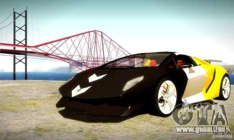 Lamborghini Sesto Elemento pour GTA San Andreas vue de dessus