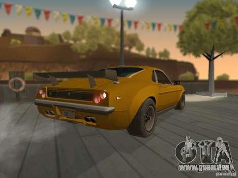 SPEEDEVIL from FlatOut 2 pour GTA San Andreas sur la vue arrière gauche