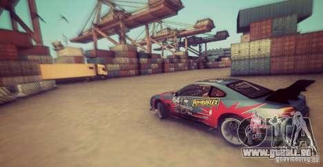 Tokyo Drift map pour GTA San Andreas