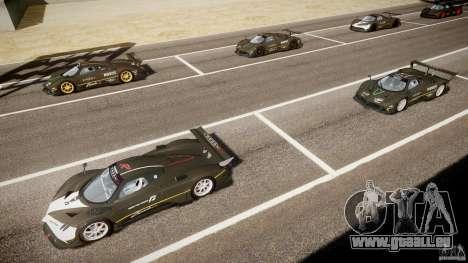 Pagani Zonda R 2009 für GTA 4 Innen