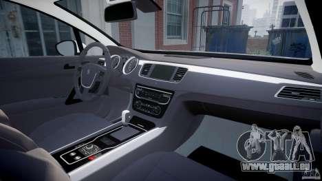 Peugeot 508 Macedonian Police [ELS] für GTA 4 rechte Ansicht