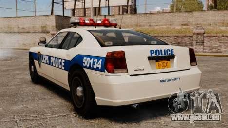 Police de Buffalo ELS pour GTA 4 Vue arrière de la gauche
