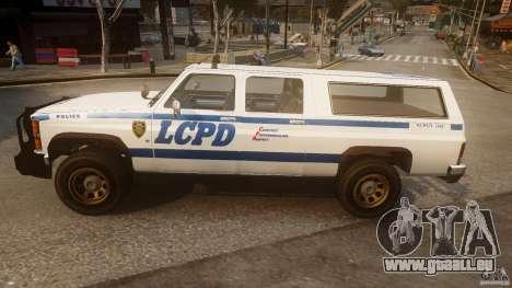 Declasse Yosemite Police pour GTA 4 est une gauche