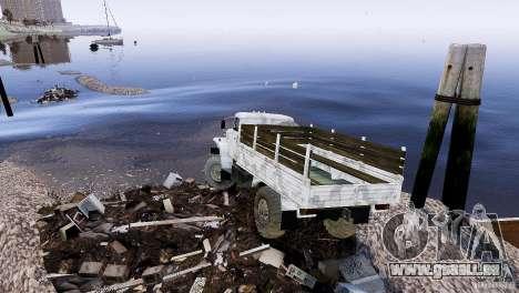 Route de Trialovskaâ pour GTA 4 secondes d'écran