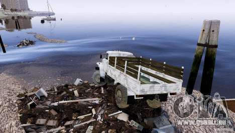 Trialovskaâ Weg für GTA 4 Sekunden Bildschirm