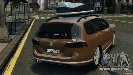 Volkswagen Passat Variant B7 für GTA 4 hinten links Ansicht