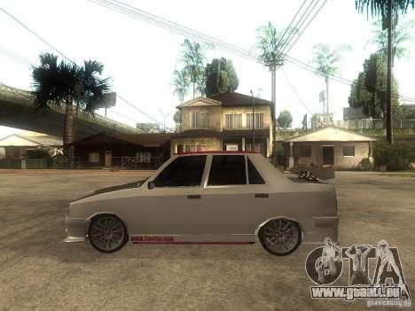 Renault 9 GTD pour GTA San Andreas laissé vue