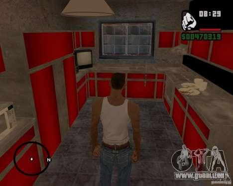 Maison Hunter v 1.0 pour GTA San Andreas quatrième écran